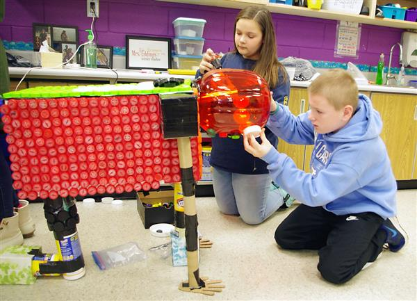 Balls Creek Elementary Students Bring Life To Recyclables In Catawba County