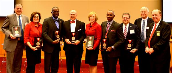 Seven Innovative NC Superintendents Awarded the Friday Medal