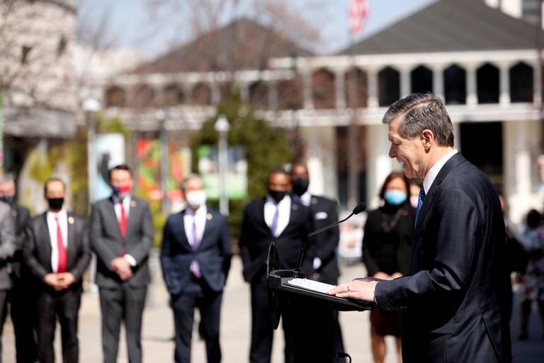 Governor Cooper Throws 'First Pitch' In State Budget Process