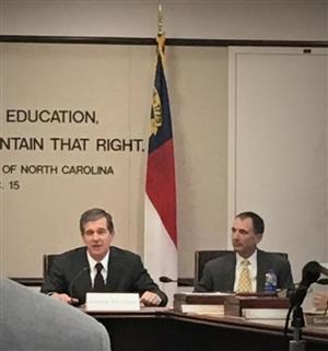 Governor Cooper Visits SBE Meeting, Discusses Goals For Education