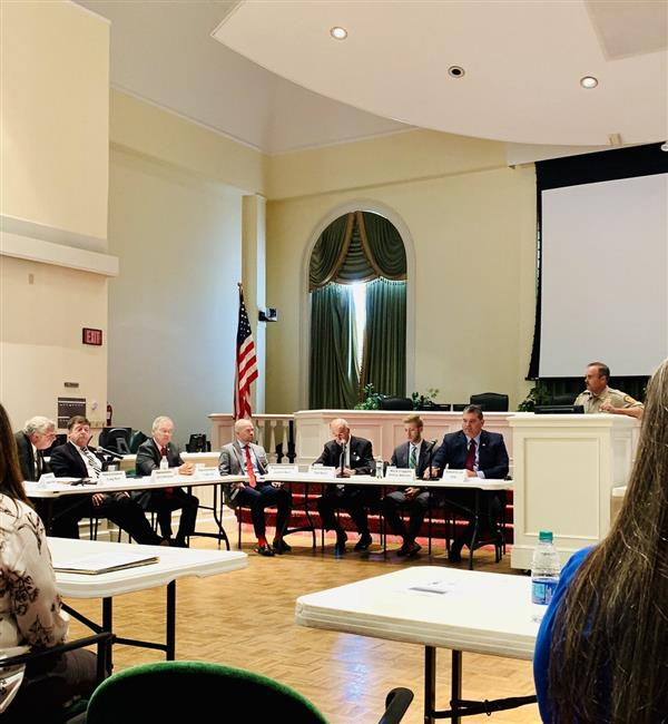 House Select Committee on School Safety Meets in Wilmington