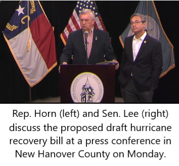 NC Legislature Plans First Extra Session For Hurricane Recovery