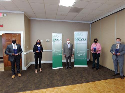 Dr. Samuel Houston Jr. Leadership Award Winners