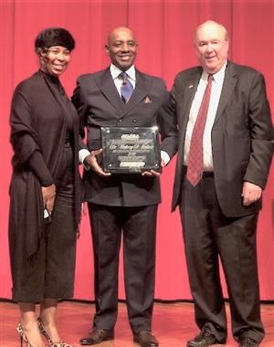 Dr. Anthony Jackson Superintendent of the Year