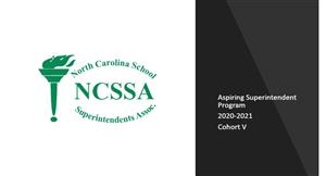 Aspiring Superintendent Program Cohort V